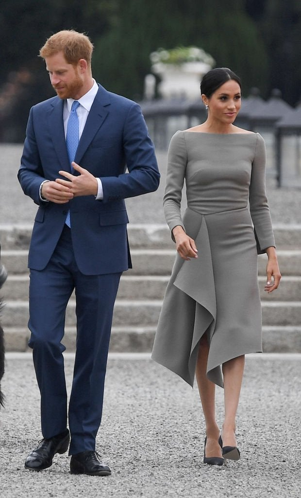 Was Meghan Markles Dress Inspired By Another Royal pictures