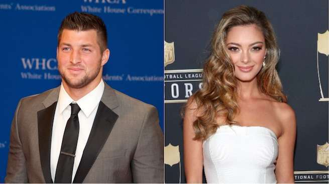 Tim Tebow Confirms Relationship With Miss Universe Demi