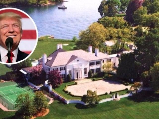 Peek Inside President Donald Trump's $4M Connecticut Starter Mansion