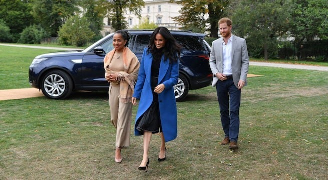 Meghan Markle Hosts First Palace Event With Her Mom by Her Side