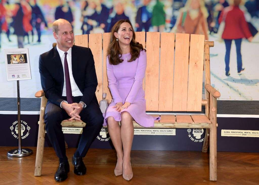 Duchess of Cambridge shows some skin in Erdem frock