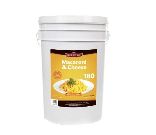 Costco is selling a 26-pound bucket of mac and cheese