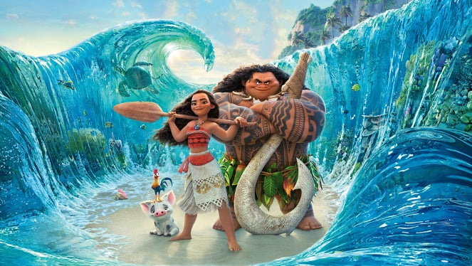 Moana on Netflix in June