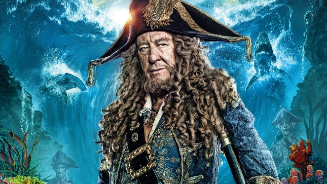 Pirates of the Caribbean 5 Returning Characters Barbossa
