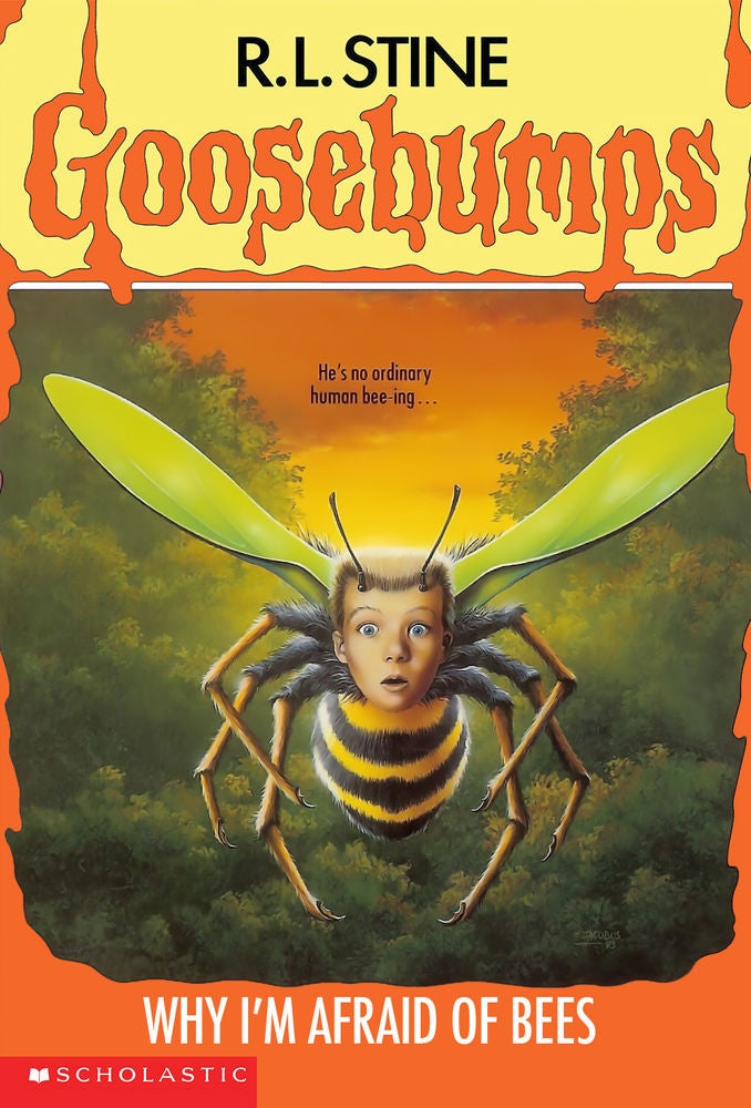 goosebumps-Why I'm Afraid of Bees (Cover)