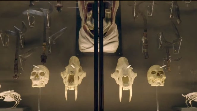 The Mummy Wolf Man Easter Egg