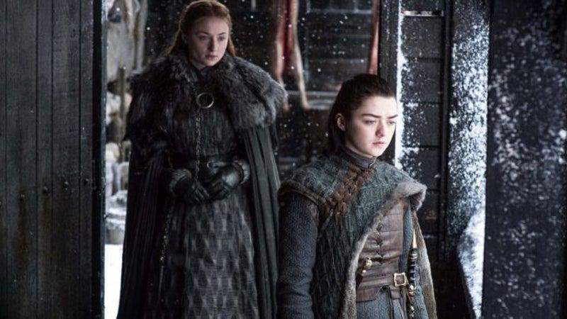 Game Thrones season 7 Arya Sansa
