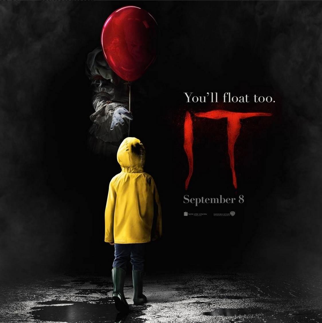 IT (2017) Movie Poster