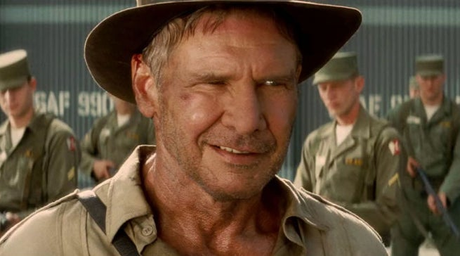 Harrison Ford Old Indiana Jones 5