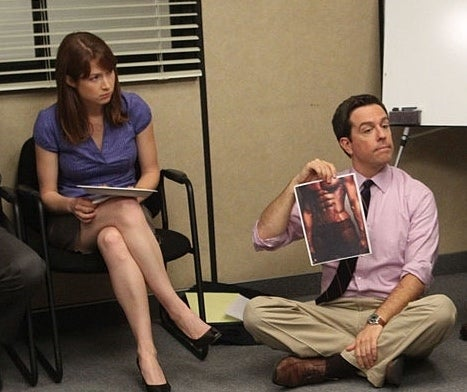 Andy Bernard Erin Hannon The Office