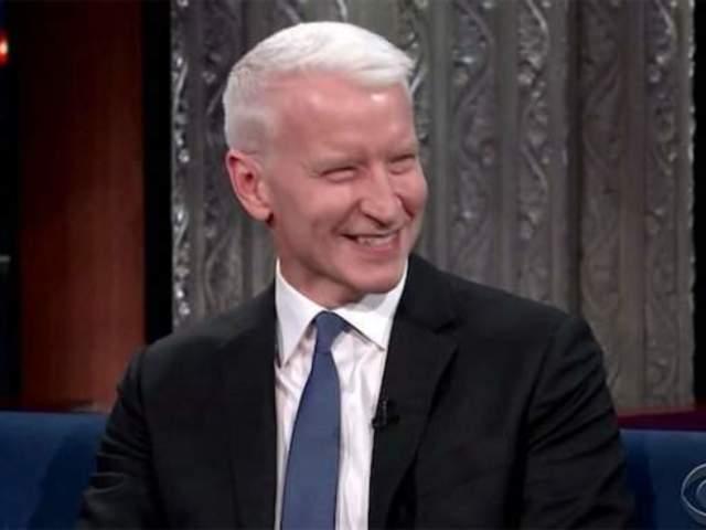 Anderson Cooper Caught off Guard by CNN Marijuana Bus Segment