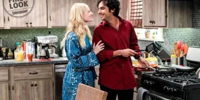 Big Bang Theory - Beth Behrs - Kunal Nayyar - EW