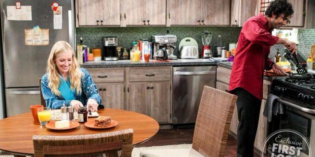 Big Bang Theory - Beth Behrs - Kunal Nayyar - EW3