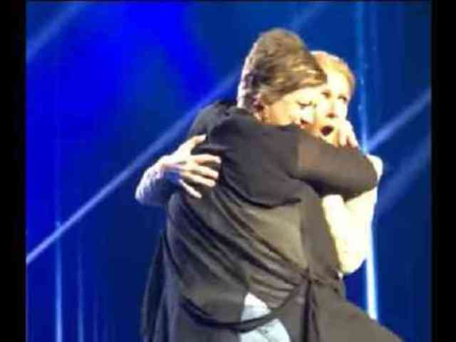 Woman Humps Celine Dion on Stage in Las Vegas
