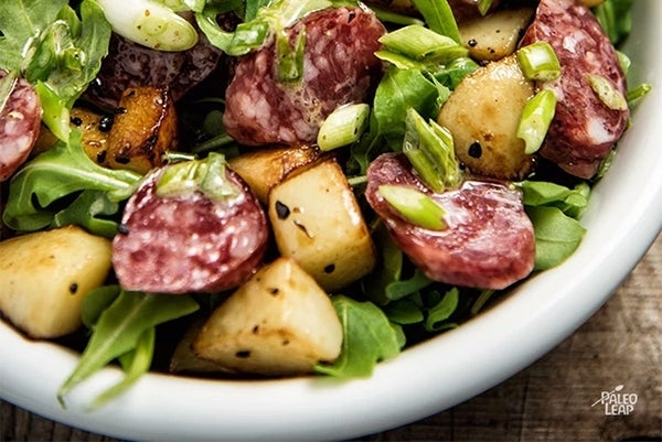 Chorizo And Roasted Potato Salad