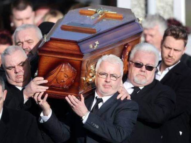 Mourners Say Final Goodbye to Cranberries Singer Dolores O'Riordan