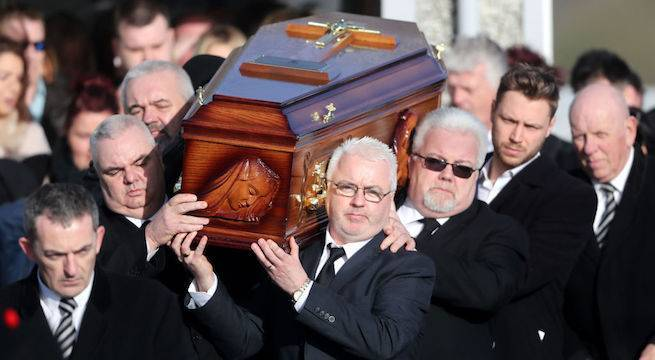 dolores-o'riordan-funeral_getty-Niall Carson - PA Images : Contributor