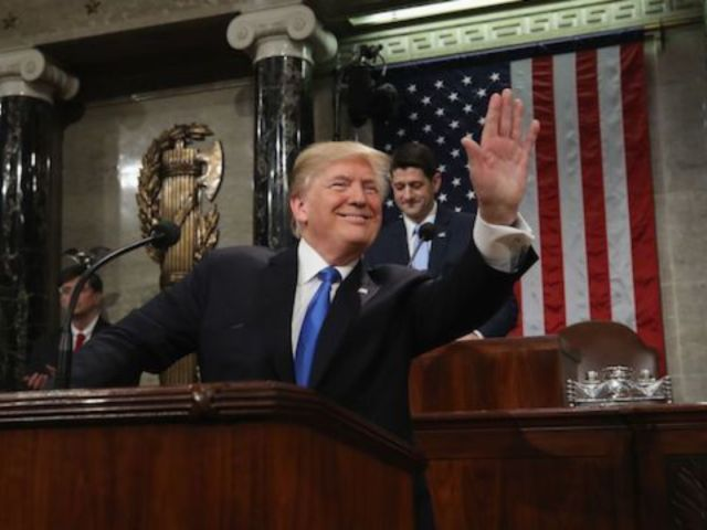 President Trump's First State of the Union Trails Three Predecessors in TV Ratings