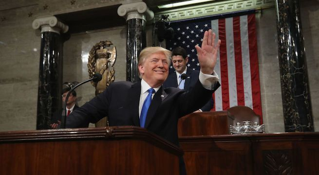 donald-trump-state-of-the-union_getty-Win McNamee : Staff