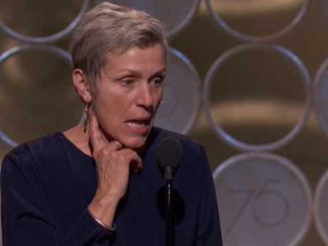 Frances McDormand Explains 'Inclusion Rider' After Oscars Win