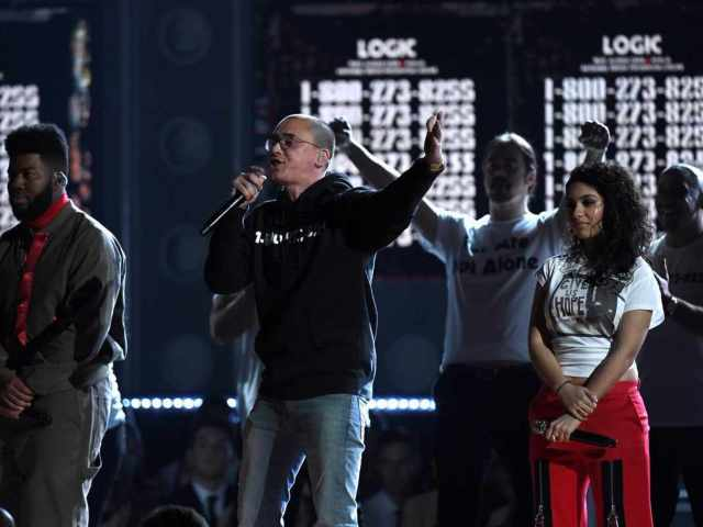 Logic, Alessia Cara and Khalid Put a Spotlight on Suicide Prevention at Grammy Awards