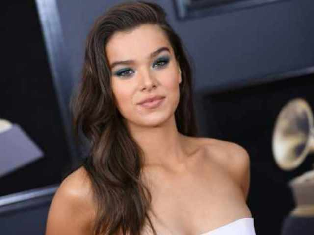 Hailee Steinfeld Steps out in Intergalactic Boots on Grammys Red Carpet