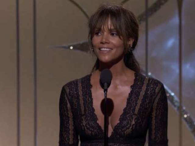 Halle Berry Called 'Gorgeous' by Golden Globe Viewers