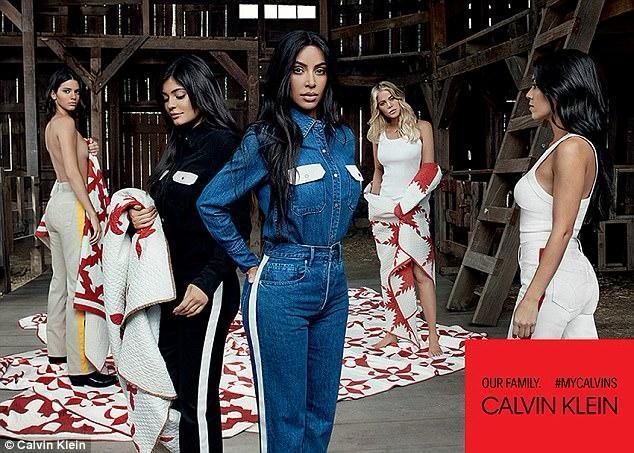 Kardashian - Jenner - Calvin Klein