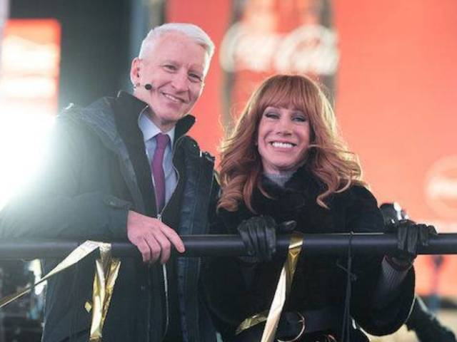 Twitter Wants Kathy Griffin Back With Anderson Cooper for New Year's Eve