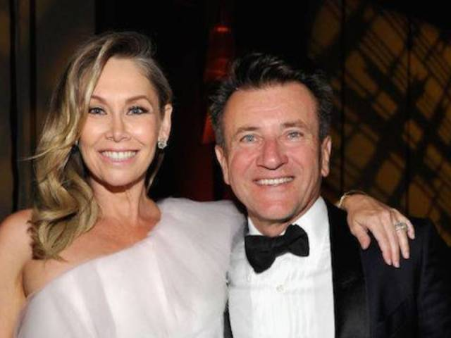 Kym Johnson Shares First Family Photo With Newborns and Dad Robert Herjavec