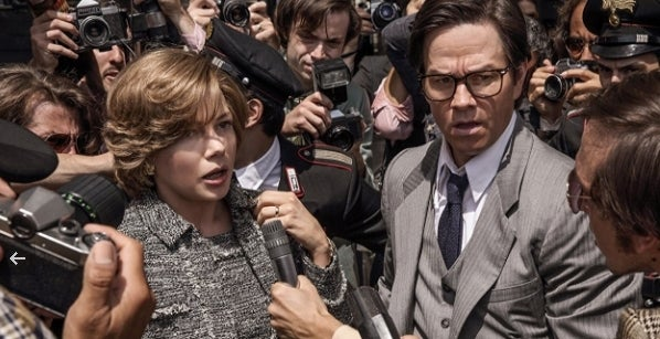 Mark Wahlberg  - Michelle Williams - All the Money in the World IMDB