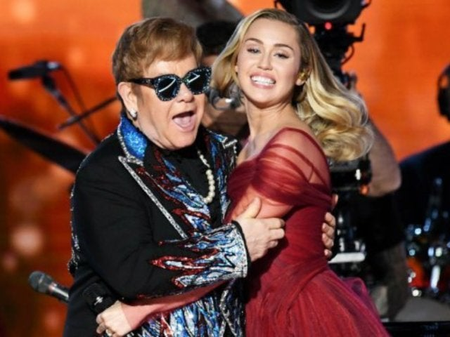 Watch Miley Cyrus Perform 'Tiny Dancer' With Sir Elton John