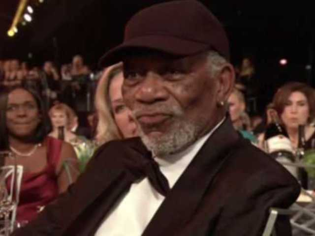 Morgan Freeman Admits Calling out Lily Tomlin During SAG Award Speech