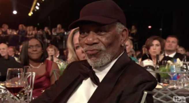 Morgan-Freeman-SAG-Awards