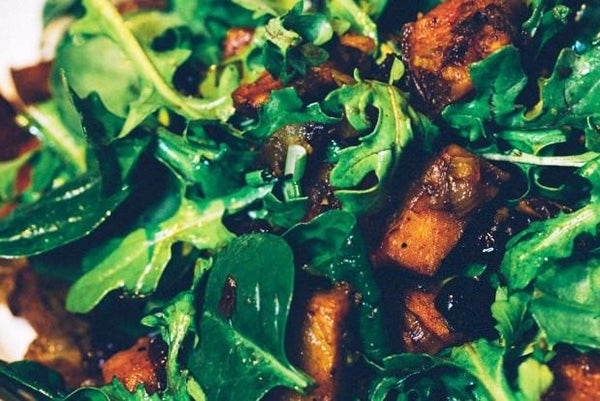 Paleo-Sweet-Potato-Spinach-Salad