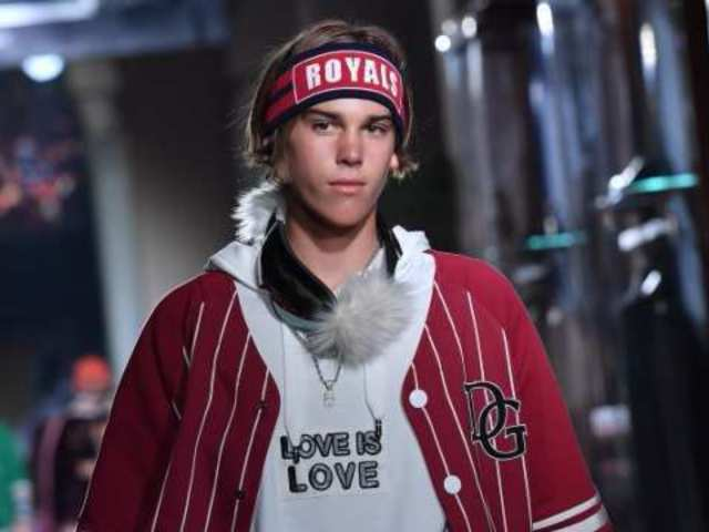 Pierce Brosnan's Son Makes Runway Debut During Milan Fashion Week