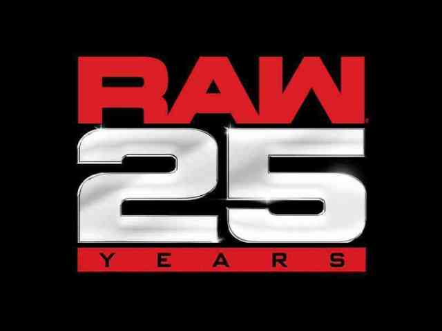 News on WWE's Broadcast Plans for RAW 25