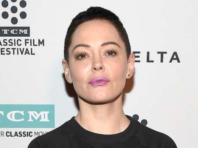 Rose McGowan Accuses Stars Who Wore Black of 'Hollywood Fakery'