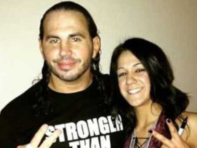 Bayley Was Once Dumped over Her Love for Matt Hardy