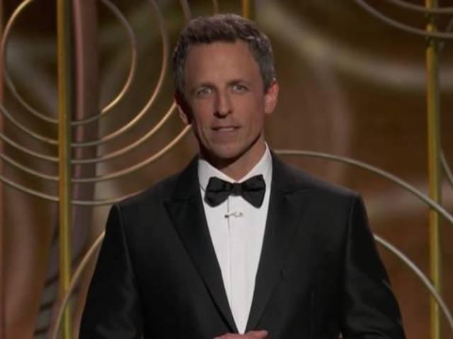 Watch Seth Meyers' Golden Globes Opening Monologue