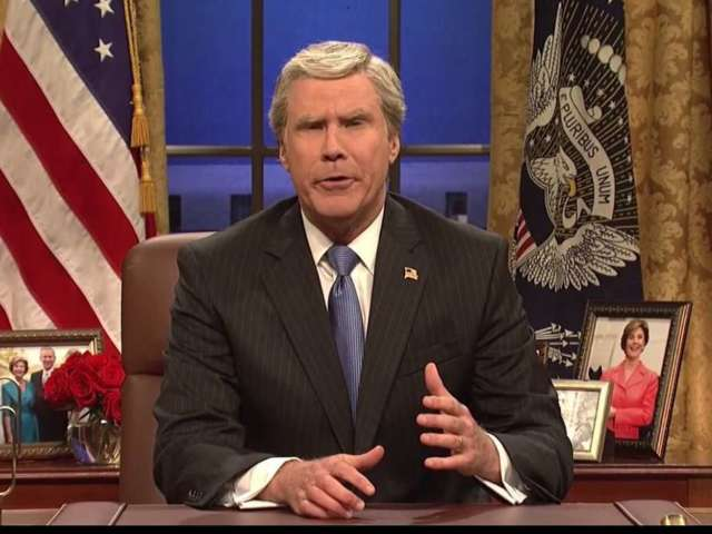 'SNL': Will Ferrell's George Bush Reminds Everyone He Was a 'Historically Bad President'