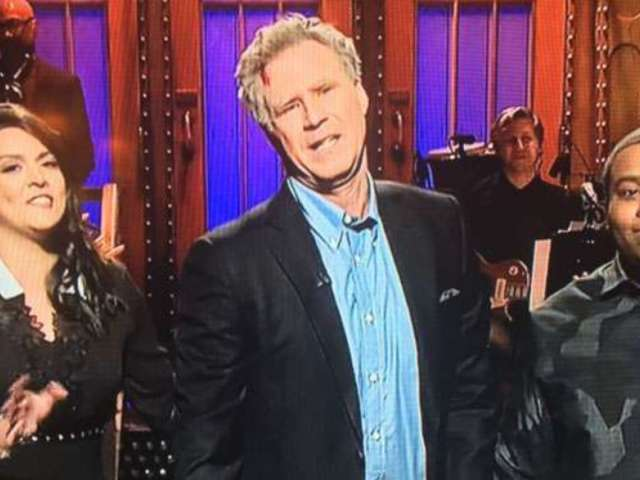 Will Ferrell Returns to 'SNL' With Hilarious, Bleeding Monologue