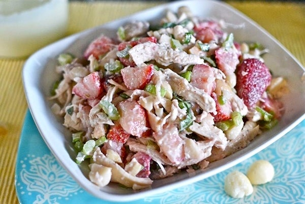 Strawberry-Macadamia-Nut-Chicken-Salad