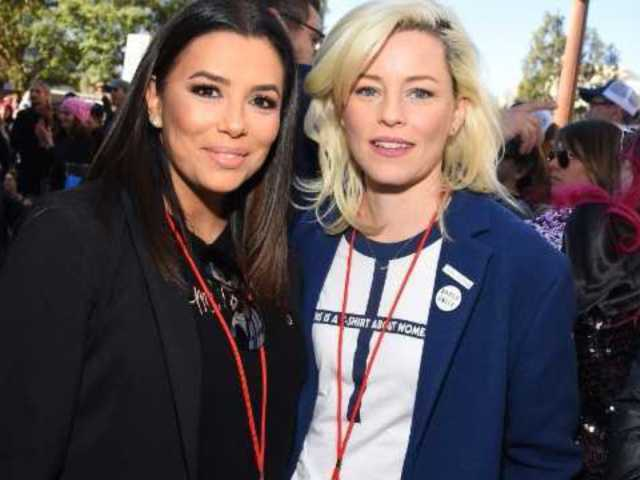 Hollywood Stars Spotted at Women's March Rallies