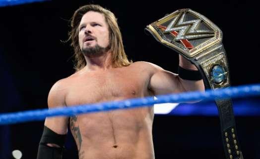 AJ Styles Ronda Rousey
