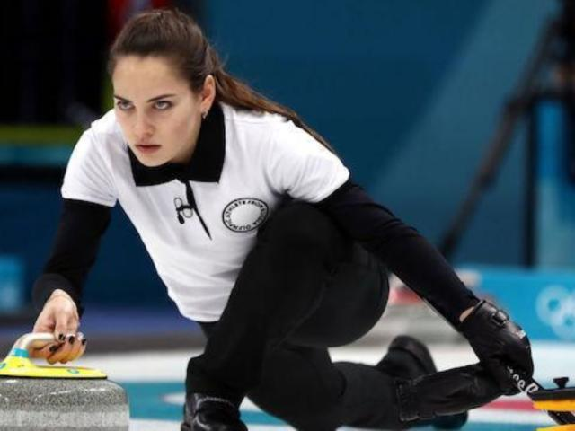 Twitter Only Has Eyes for Dazzling Russian Winter Olympic Curler