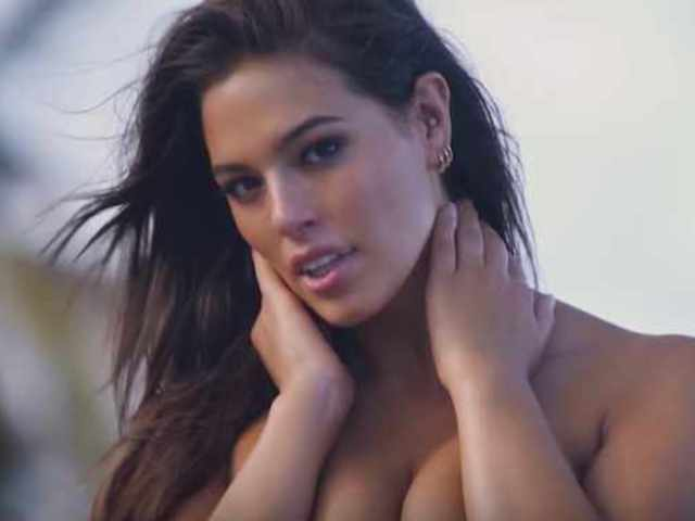 Ashley Graham Dances Topless in New Sports Illustrated Swimsuit Video
