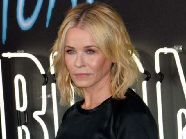 Chelsea Handler Bares All While Lying on a Ping Pong Table