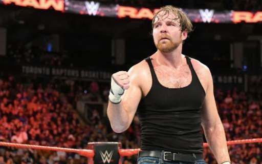Dean Ambrose Injury WrestleMania