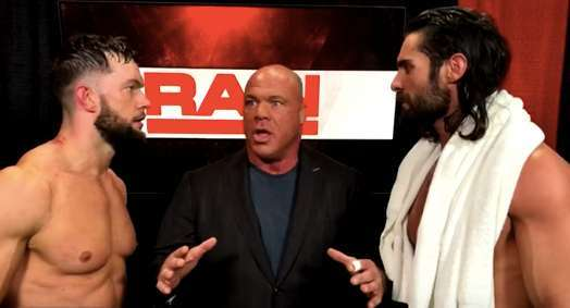 Elimination Chamber Angle Rollins Balor